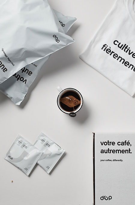 Biodegradable coffee bags